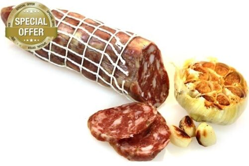 Garlic and Chianti Salami