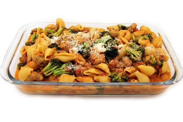 Pasta Sausage and Broccoli