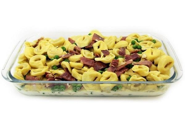 Tortellini with Prosciutto